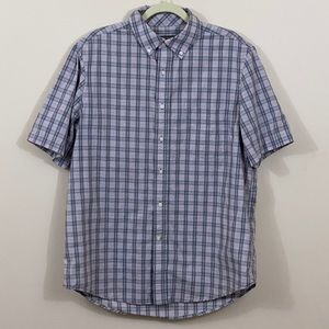 George Short Sleeve Button Up Size Large